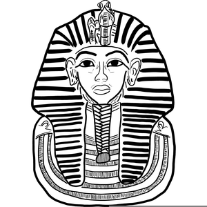Kingtut clipart clip black and white King Tut Clipart Free | Free Images at Clker.com - vector clip art ... clip black and white