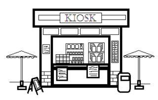 Kiosk clipart clip art free library Kiosk clipart 3 » Clipart Station clip art free library