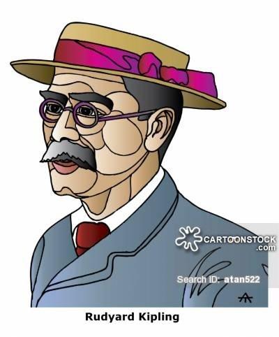Kipling clipart vector royalty free stock Rudyard Kipling » Clipart Portal vector royalty free stock