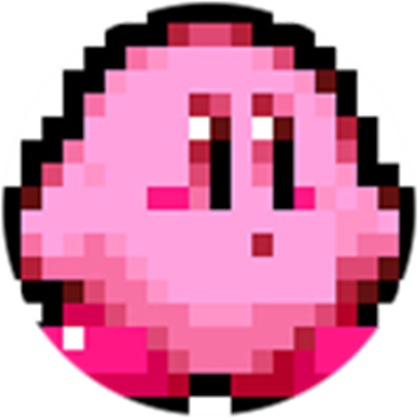 Kirby 8 bit clipart jpg transparent stock 8-Bit Kirby - Roblox jpg transparent stock