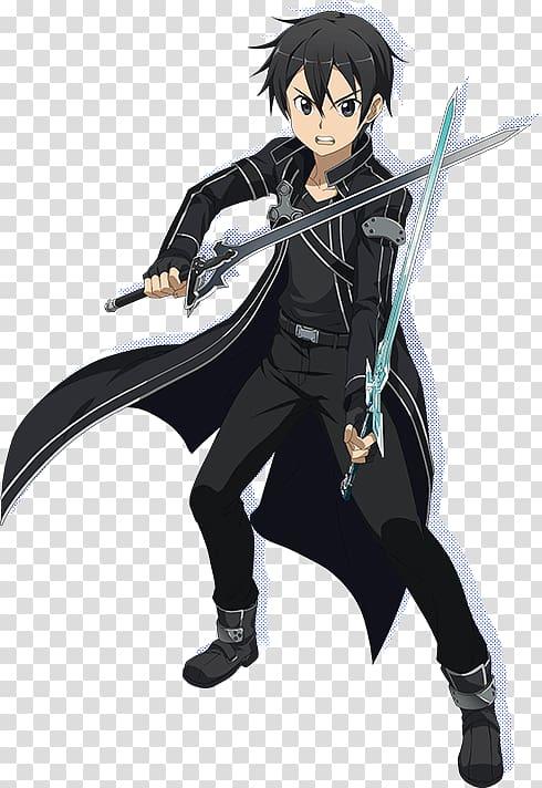 Kirito sao clipart clipart free download Kirito Asuna Leafa Sinon Sword Art Online: Hollow Realization, Sword ... clipart free download