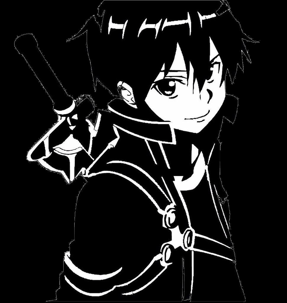 Kirito sao clipart png royalty free download Sword Art Online Sao -kirito Anime Dec Transparent Png - AZPng png royalty free download