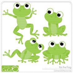 Kiss a lot of frogs free clipart clipart library library Kiss the Frog Digital Clip Art | Clipart Panda - Free Clipart Images clipart library library
