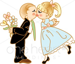 Bride and groom kissing clipart clipart royalty free library Kissing Couple Clipart | Couples Clipart clipart royalty free library