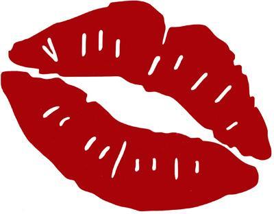 Kiss mark clipart clip art black and white download Red Kiss Mark - Free Clipart clip art black and white download