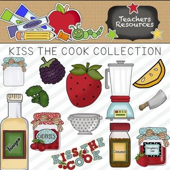 Kiss the cook clipart clip transparent download Kiss The Cook Clipart Collection || Commercial Use Allowed clip transparent download