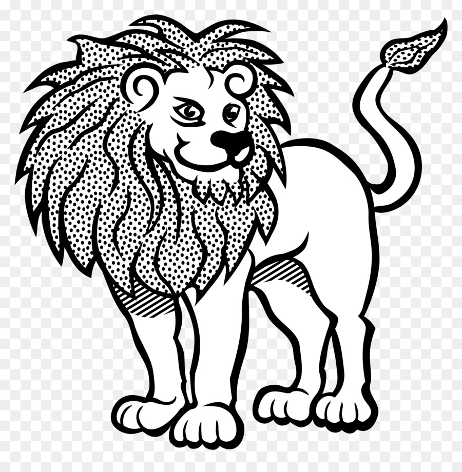 Kissing a lion clipart black and white svg royalty free Black And White Flower clipart - Lion, Drawing, Art, transparent ... svg royalty free