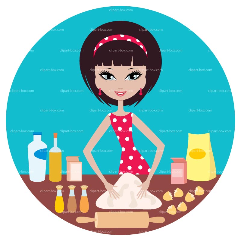 Kitchen chef clipart girl png royalty free Girl Cooking Clipart - Clipart Kid png royalty free