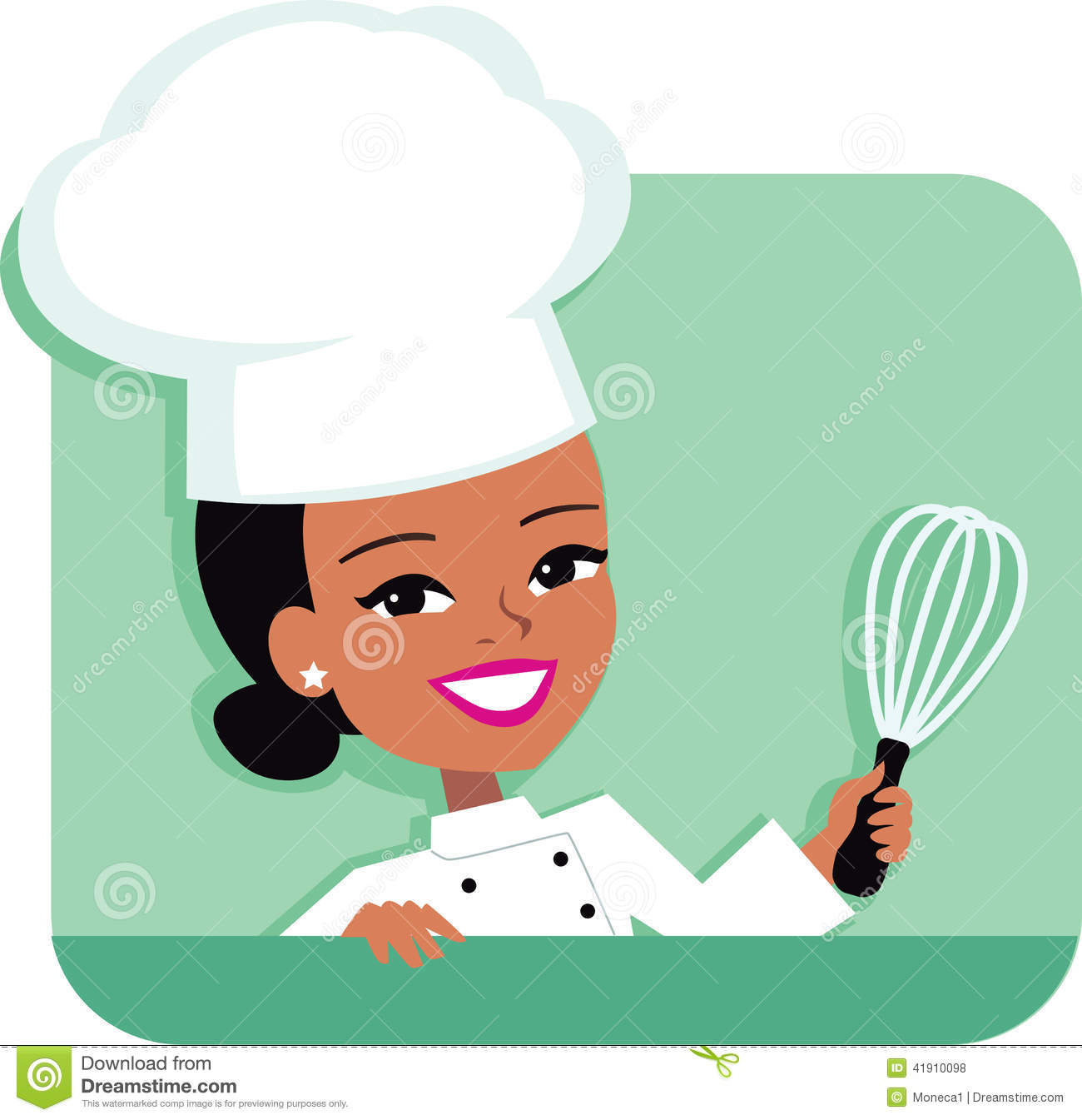 Kitchen chef clipart girl jpg freeuse Cute Girl Chef Clipart - Clipart Kid jpg freeuse
