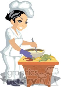 Kitchen chef clipart girl graphic transparent stock Woman Chef Clip Art | African American Woman Chef Tasting Royalty ... graphic transparent stock