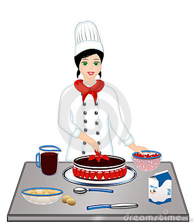 Kitchen chef clipart girl image freeuse download Kitchen chef clipart girl - ClipartFest image freeuse download