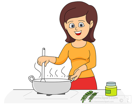 Kitchen chef clipart girl clipart royalty free library Cook Clipart & Cook Clip Art Images - ClipartALL.com clipart royalty free library
