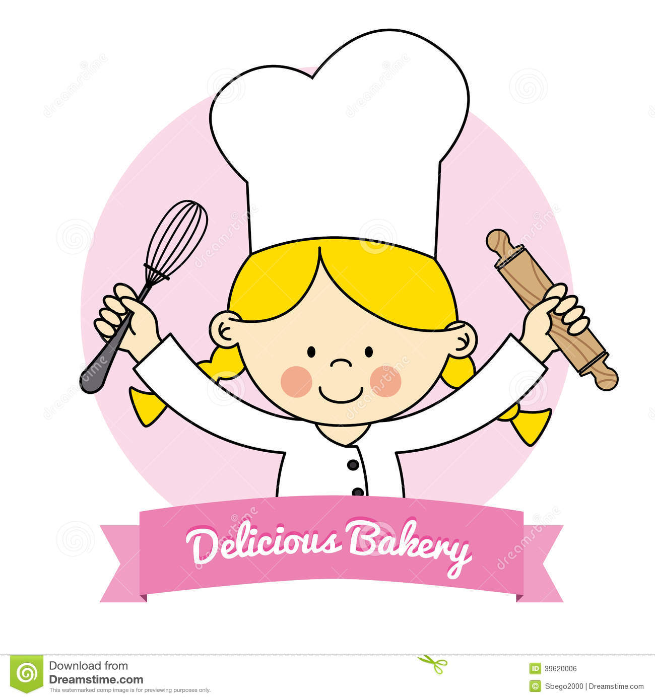 Kitchen chef clipart girl graphic royalty free Little Girl Chef Clipart - Clipart Kid graphic royalty free