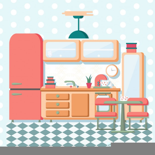 Kitchen clipart free download vector black and white Vintage Kitchen Clipart Free Images At Clker Com Vector Useful Clip ... vector black and white