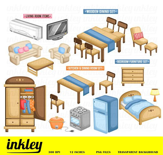 Kitchen furniture clipart banner free stock Furniture Clipart, Furniture Clip Art, Furniture Png, Television ... banner free stock