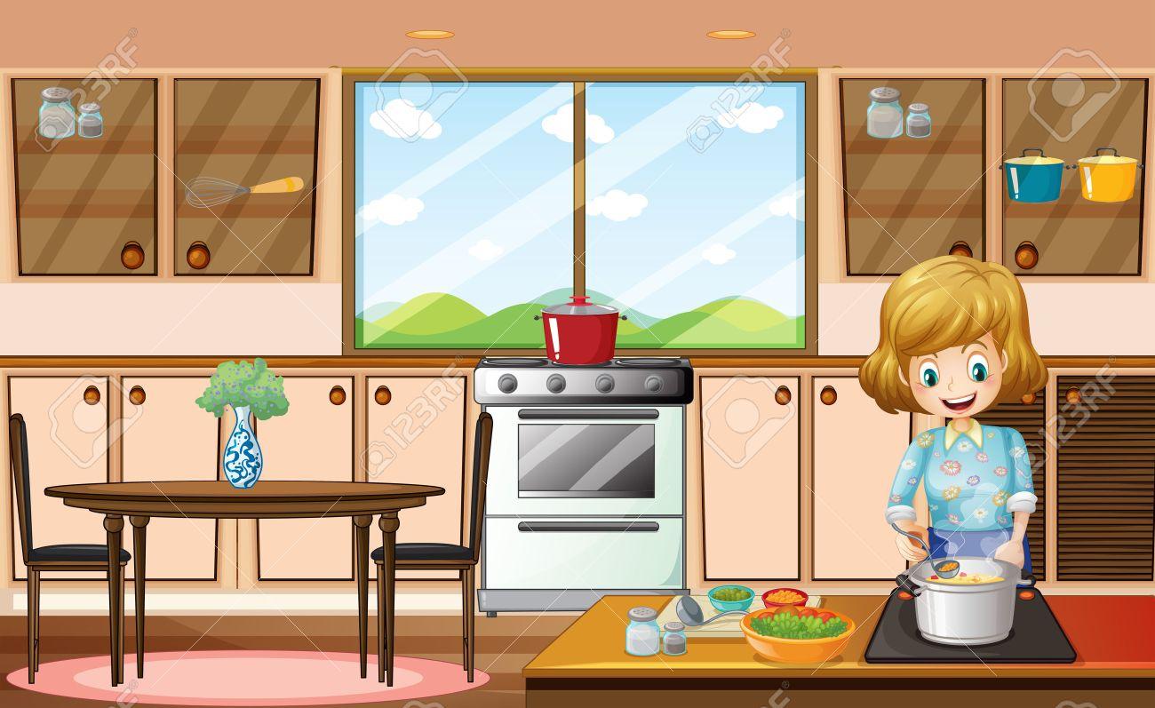 Kitchen room clipart clip art free Kitchen room clipart 6 » Clipart Station clip art free