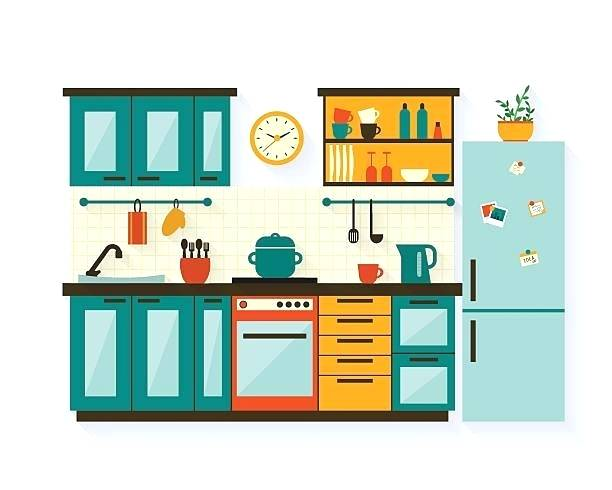 Kitchen room clipart png freeuse library kitchen room clipart – starrgutters.co png freeuse library