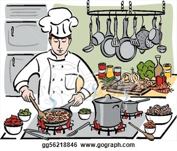 Kitchen staff clipart clipart royalty free download Kitchen Staff Clipart Animated - Free Clipart clipart royalty free download
