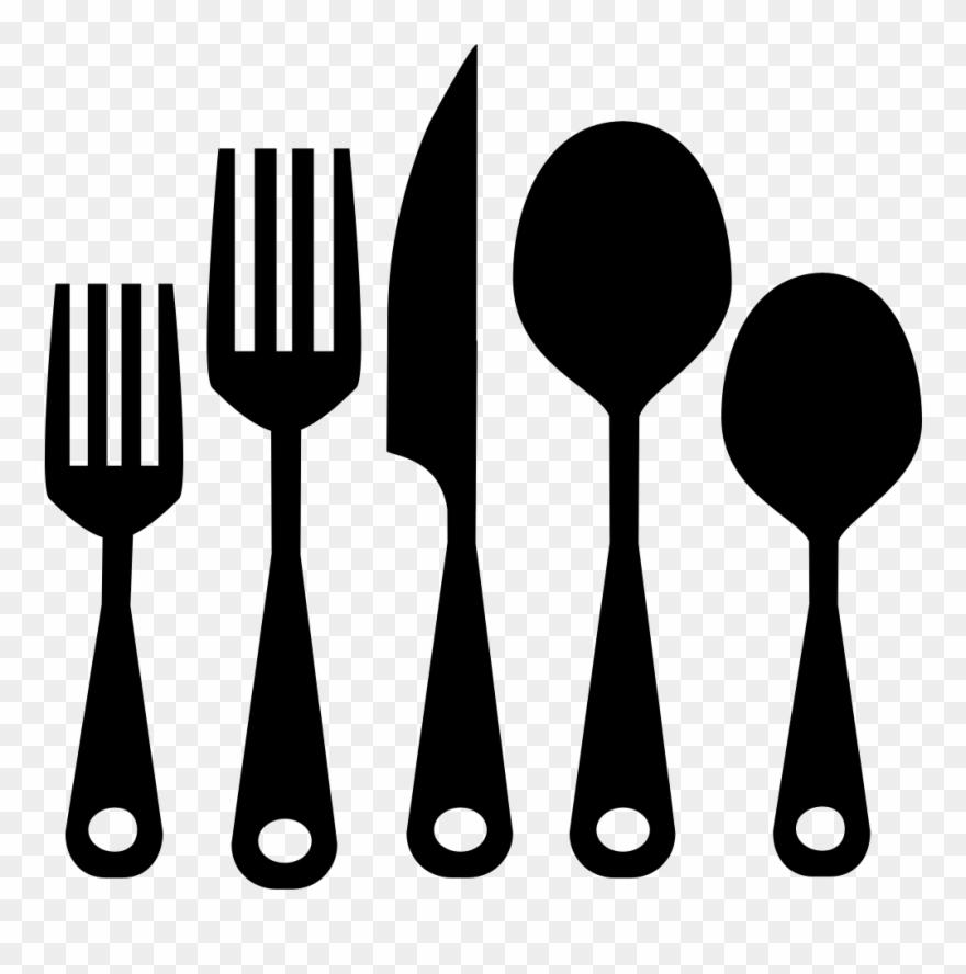 Kitchen utensil clipart free stock Kitchen Utensils Clipart Png Download - Utensilios De Cocina ... free stock