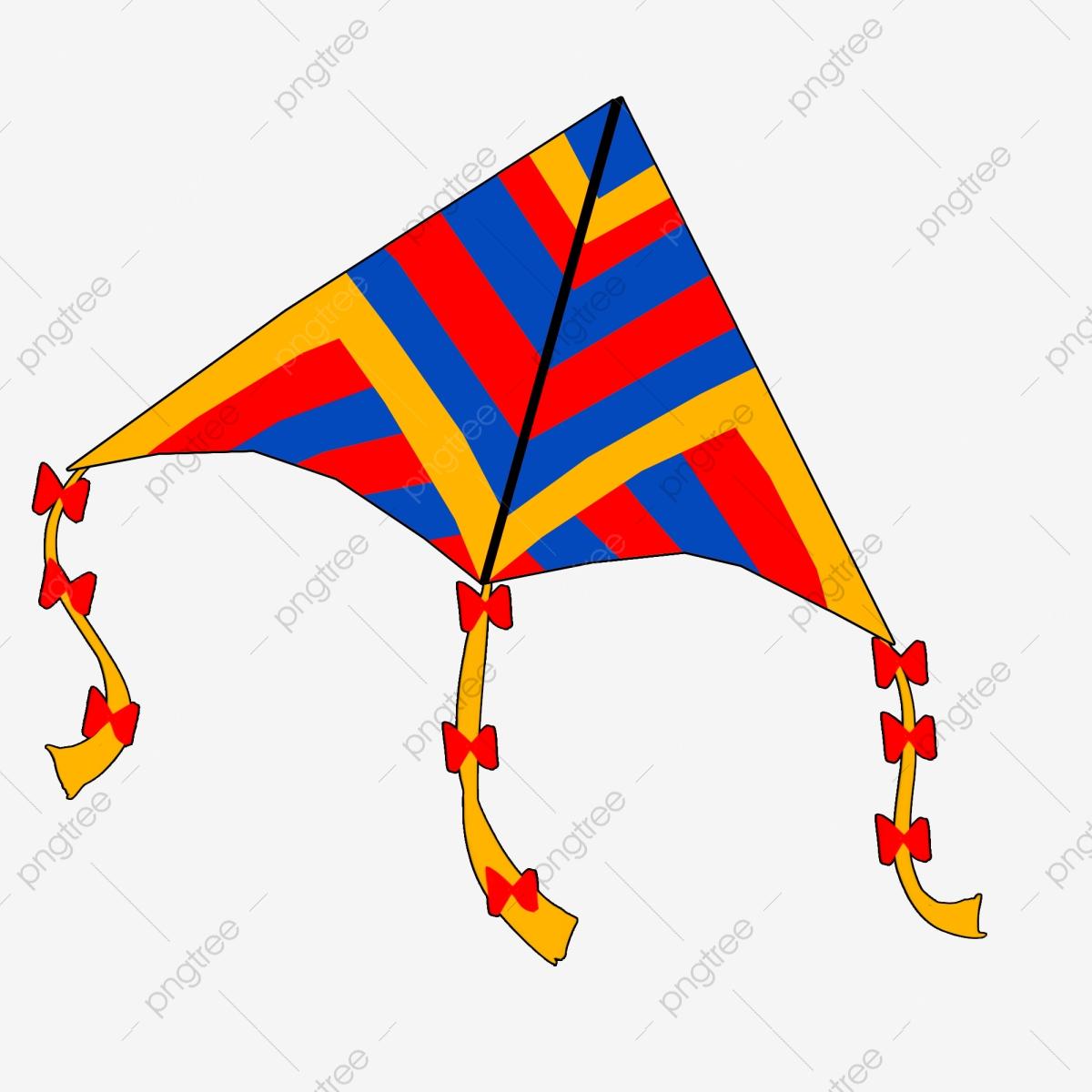 Beautiful Kite Colorful Kite Illustration Cartoon Kite Red ... clipart freeuse