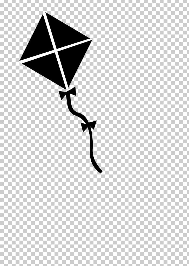 Library of kite clipart library without string black and ...