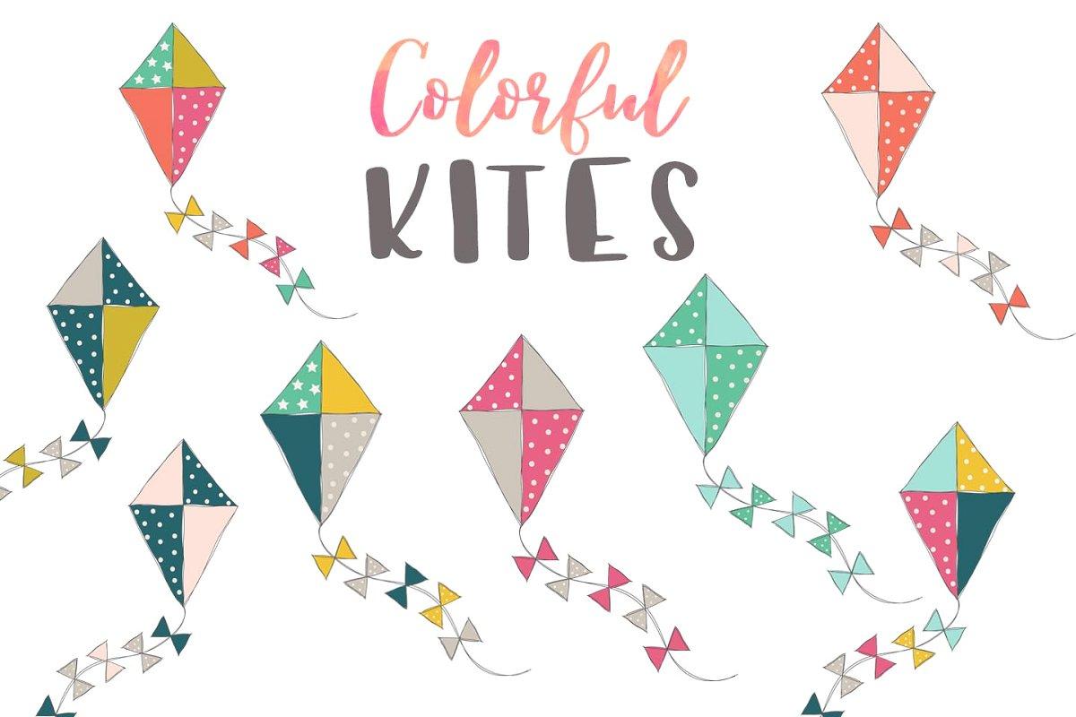 Kites clipart jpg free stock Kite Clip Art - Clipart Kites jpg free stock