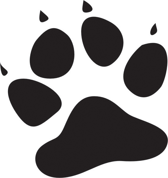 Kitty paws clipart banner stock Free Cat Paw Print, Download Free Clip Art, Free Clip Art on ... banner stock