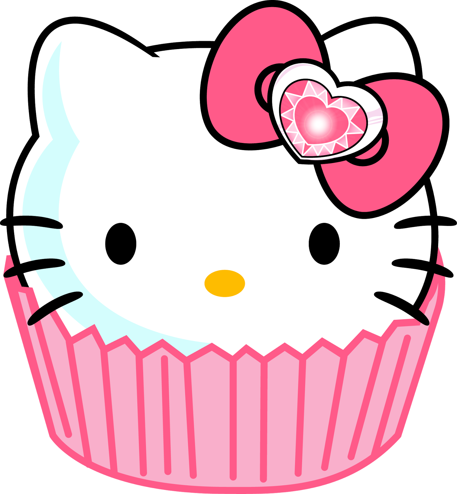 Kitty with crown clipart png download hello kitty | Hello Kitty face. | Things to Wear | Pinterest | Yummy ... png download
