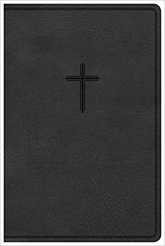 Kjv bible verse clipart black and white vector free download KJV Everyday Study Bible, Black LeatherTouch: CSB Bibles by ... vector free download