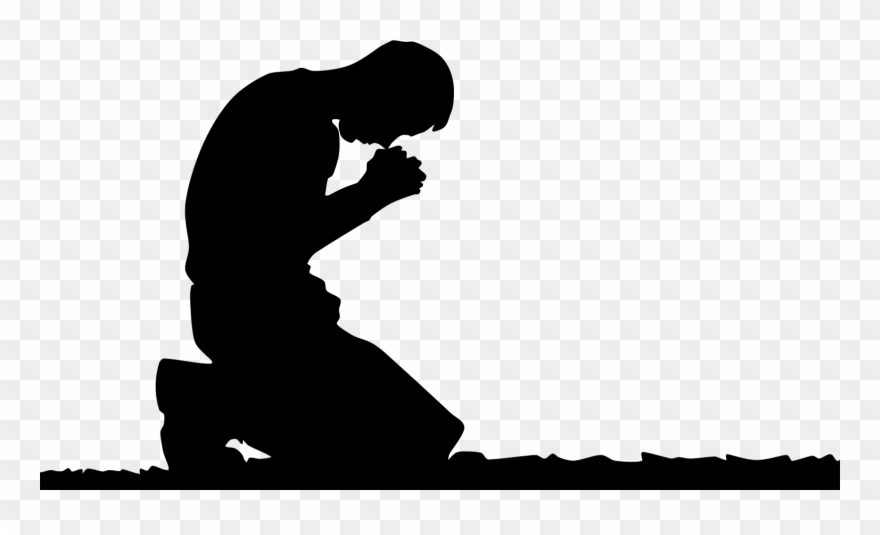 Kneeling and praying clipart vector freeuse Person Kneeling In Prayer Clipart (#676005) - PinClipart vector freeuse