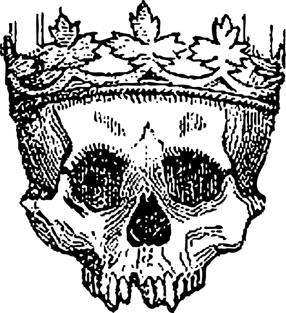 Kng crown clipart black and white vector download Public Domain Clip Art Image | king of the dead | ID: 13924987211148 ... vector download