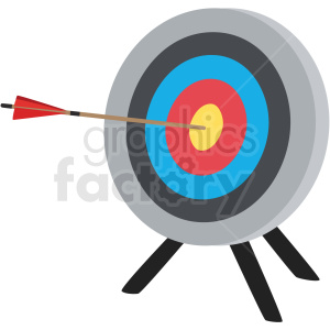 Knife throwing target on easel cartoon clipart banner black and white shooter clipart - Royalty-Free Images | Graphics Factory banner black and white