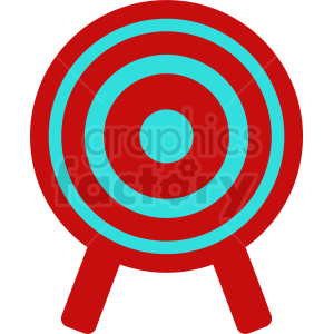 Knife throwing target on easel cartoon clipart image download target clipart - Royalty-Free Images   Graphics Factory image download
