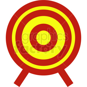 Knife throwing target on easel cartoon clipart graphic transparent target clipart - Royalty-Free Images | Graphics Factory graphic transparent