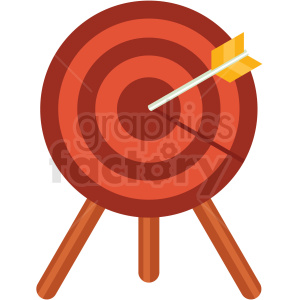 Knife throwing target on easel cartoon clipart picture download target clipart - Royalty-Free Images | Graphics Factory picture download