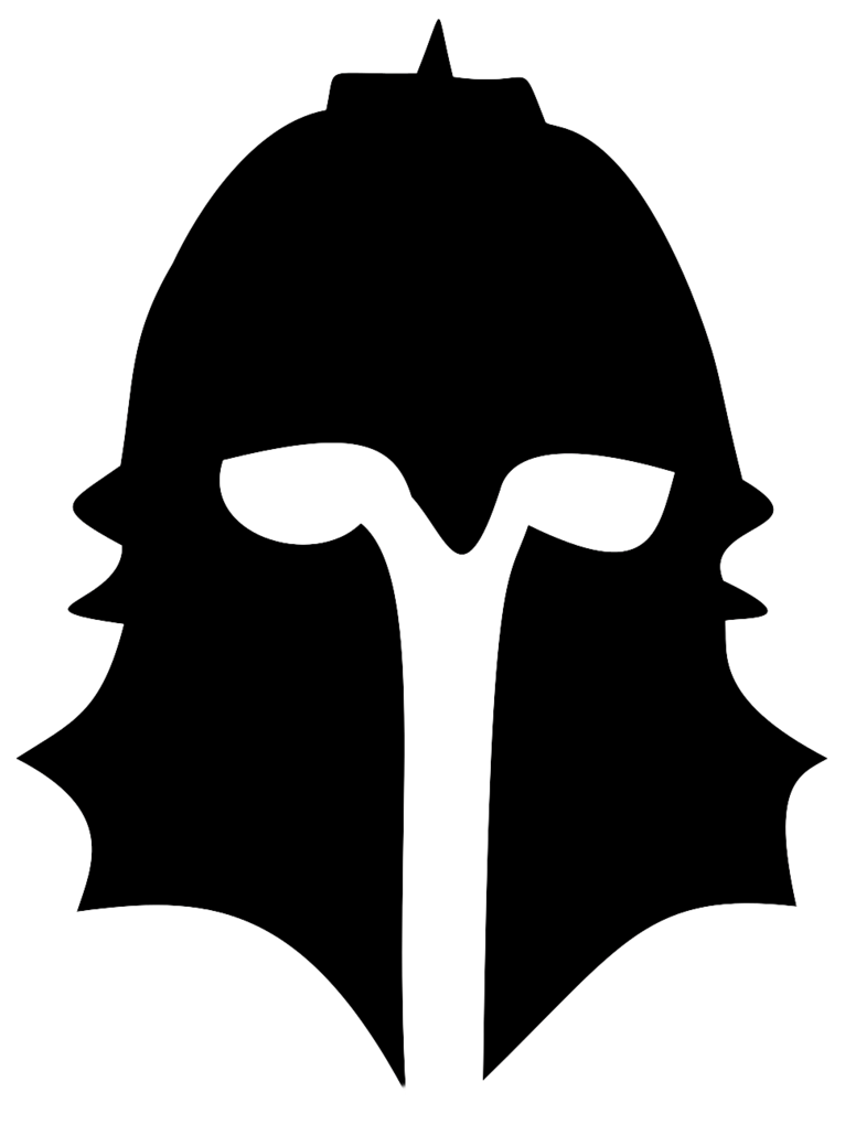 Knights football clipart vector black and white stock Silhouette Of A Knight at GetDrawings.com | Free for personal use ... vector black and white stock