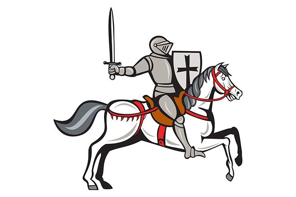 Knight side view clipart vector royalty free library Drawn Knight horse side view - Free Clipart on Gotravelaz.com vector royalty free library