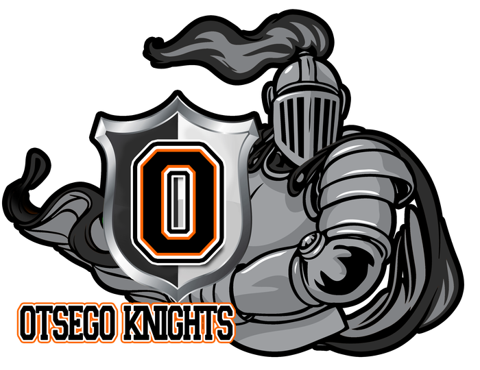 Knights football clipart svg royalty free library Otsego High School | Smore Newsletters svg royalty free library