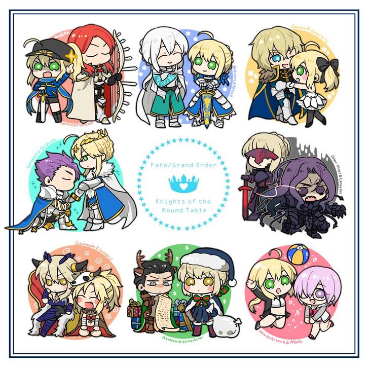 Knights of the round table clipart clipart library download FGO) (Collection) King Arthur and the Knights of the Round ... clipart library download