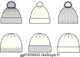 Knitted hat clipart stock Knit Cap Clip Art - Royalty Free - GoGraph stock