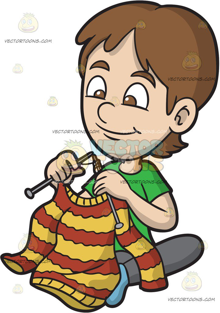 Knting clipart freeuse Knitting Clipart Kids Collection - Clipart1001 - Free Cliparts freeuse