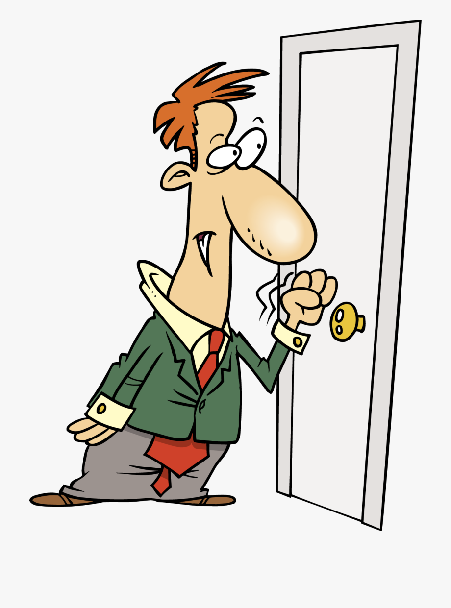 Knocking door clipart picture transparent Door - Knock At The Door Cartoon #1712191 - Free Cliparts on ... picture transparent