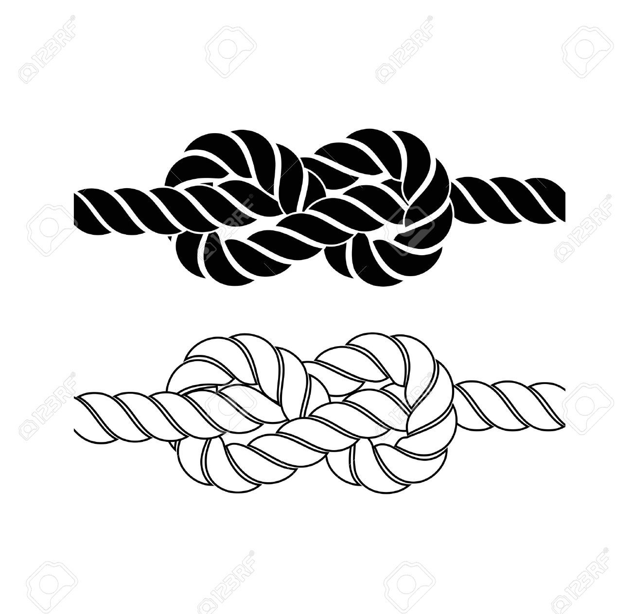 Knotted rope clipart graphic royalty free Knotted rope clipart 4 » Clipart Portal graphic royalty free
