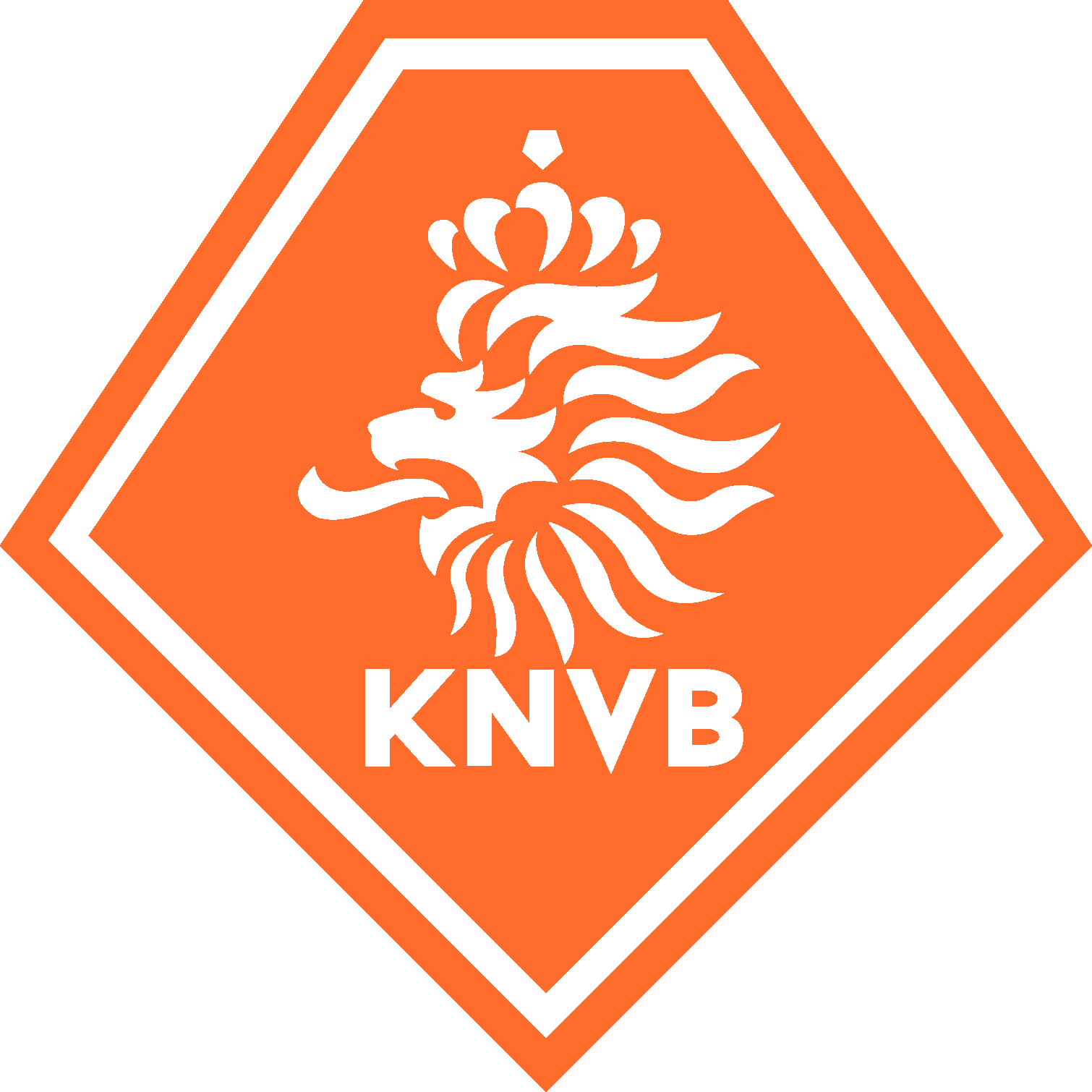 Knvb logo clipart banner library stock KNVB - Royal Netherlands Football Association & National ... banner library stock