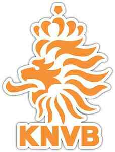 Knvb logo clipart png freeuse Details about Royal Dutch Football KNVB Netherlands Soccer Bumper Sticker  Decal 4\