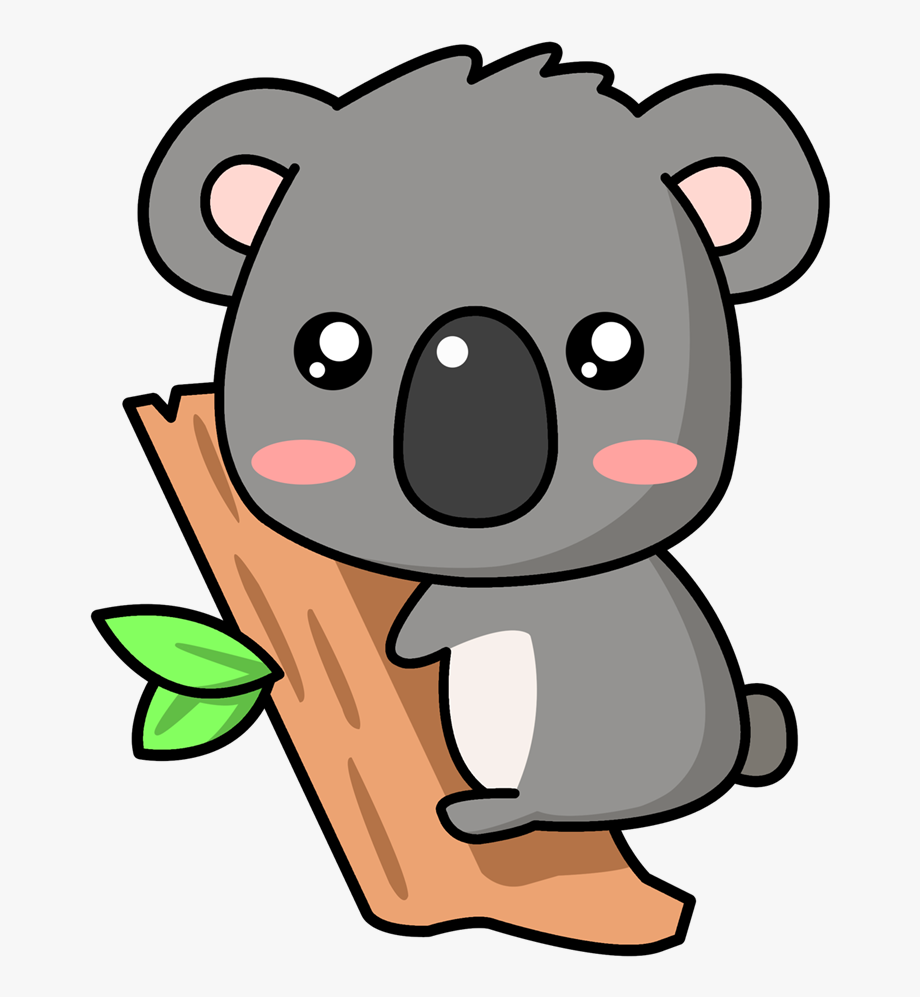 Koala bear clipart free picture free Baby Koala Png - Cute Koala Bear Cartoon #80854 - Free ... picture free