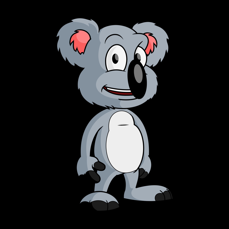Koala bear clipart free banner transparent FREE Cartoon Koala Bear Clip-art Vector - banner transparent