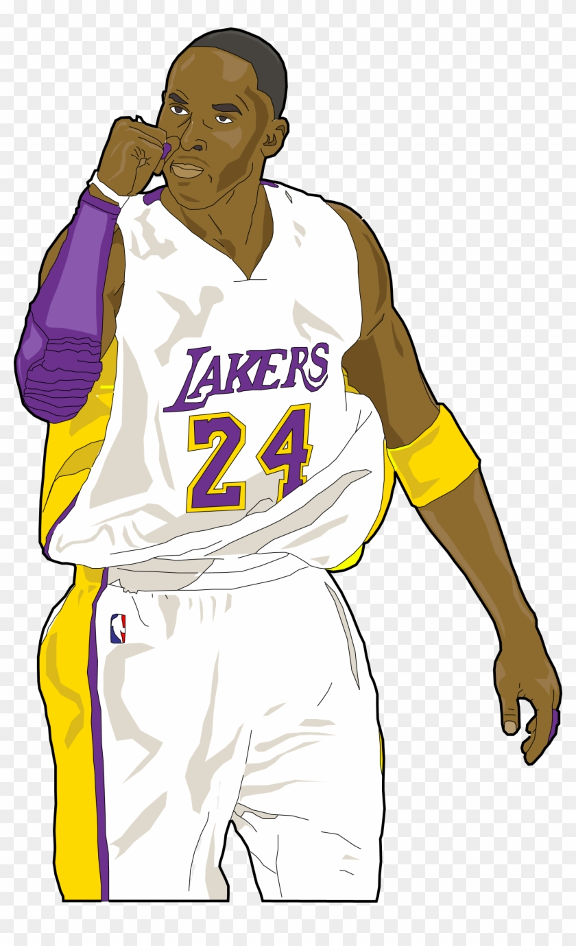 Kobe clipart jpg black and white download Kobe Bryant Clipart Transparent - Kobe Bryant Black Png, Png ... jpg black and white download