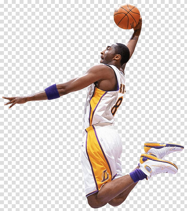 Kobe clipart png transparent stock Kobey Bryant about to dunk, Kobe Bryant Slam Dunk ... png transparent stock