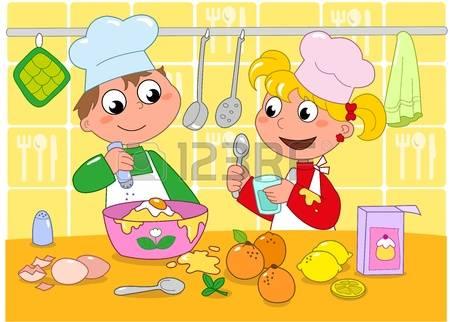 Kochen kinder clipart png library download Kinder Kochen Lizenzfreie Vektorgrafiken Kaufen: 123RF png library download